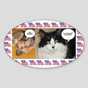 Animal Politics Humor Sticker