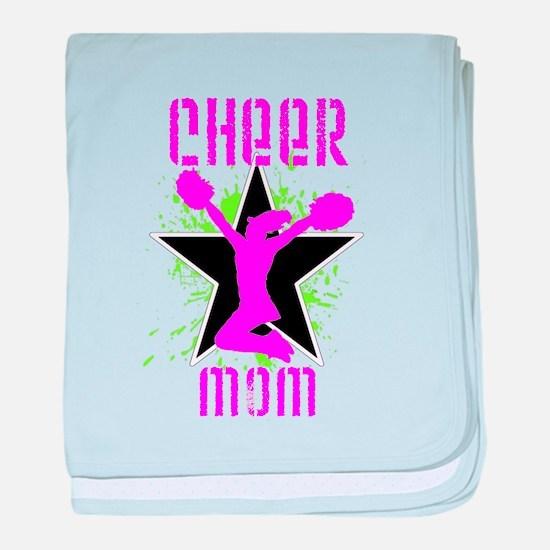 Cheer Mom baby blanket