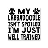 Funny labradoodle Square