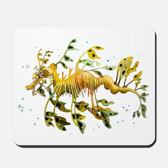 Leafy Sea Dragon Mousepad