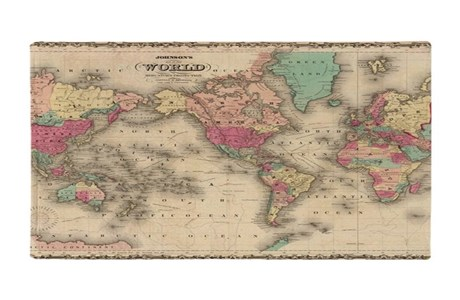 World Map Blankets   CafePress