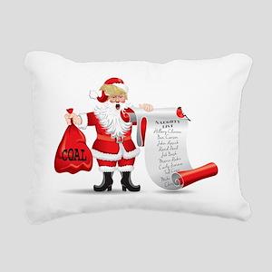 Funny SANTA TRUMP Rectangular Canvas Pillow