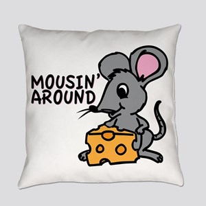 Mousin Around Everyday Pillow