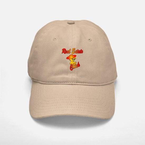Real Estate Chick #5 Baseball Baseball Cap