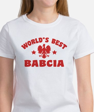 World's Best Babcia Women's T-Shirt