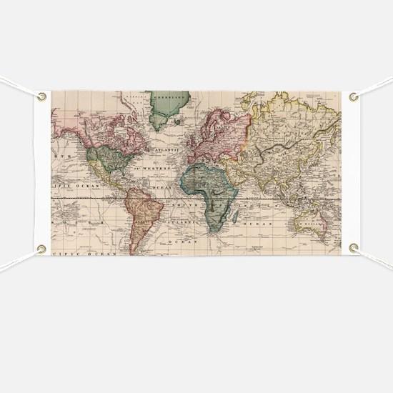 Cool World map Banner