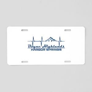 Boyne Highlands Resort - Aluminum License Plate