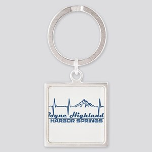 Boyne Highlands Resort - Harbor Spring Keychains