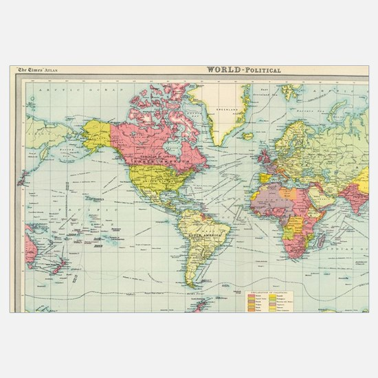World map gifts merchandise world map gift ideas apparel cute world map wall art gumiabroncs Image collections