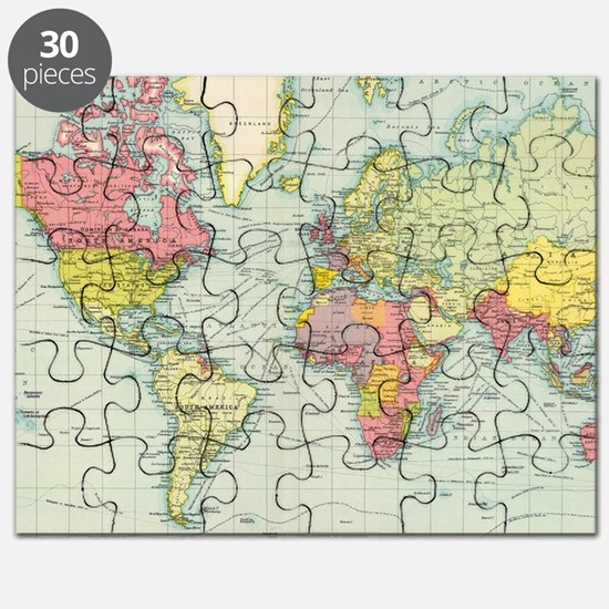 Old world map puzzles old world map jigsaw puzzle templates cute old world map puzzle gumiabroncs Image collections