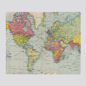 Old world map blankets cafepress throw blanket gumiabroncs Images