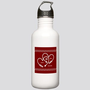 Personalized Names Wed Stainless Water Bottle 1.0L