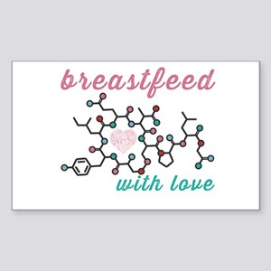 Breastfeed with Love Sticker