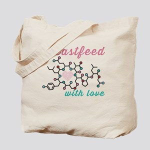 Breastfeed with Love Tote Bag