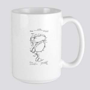 Male Chastity Belt Patent drawing Mugs