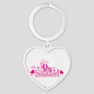 Curly Im The Big Sister Keychains