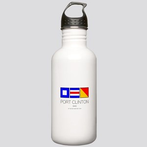 Port Clinton Nautical Stainless Water Bottle 1.0L