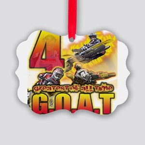 RC4GOAT Picture Ornament