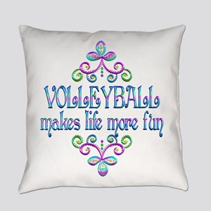 Volleyball Fun Everyday Pillow