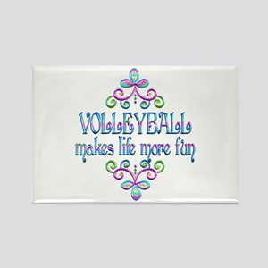 Volleyball Fun Rectangle Magnet