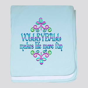 Volleyball Fun baby blanket