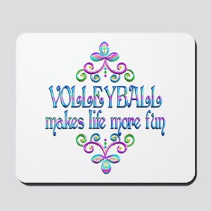 Volleyball Fun Mousepad