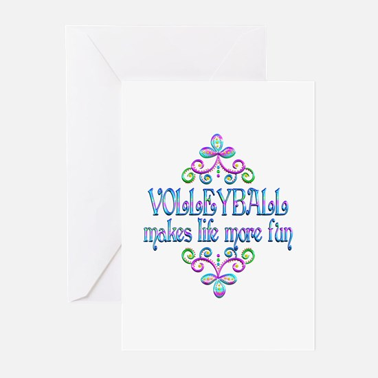 Volleyball Fun Greeting Cards (Pk of 10)