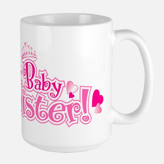 Curly Im The Baby Sister Mugs