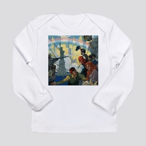 Immigrants and The Statue of L Long Sleeve T-Shirt
