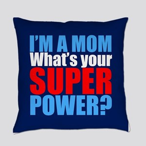 Super Mom Everyday Pillow