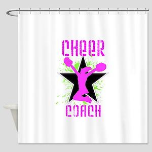 Cheer Coach Shower Curtain