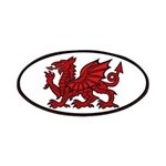 Red Welsh Dragon Patch