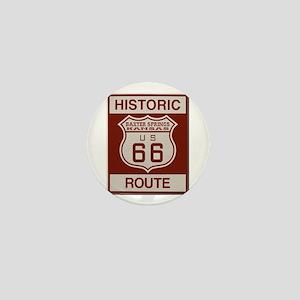 Baxter Springs Route 66 Mini Button