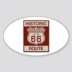 Baxter Springs Route 66 Sticker