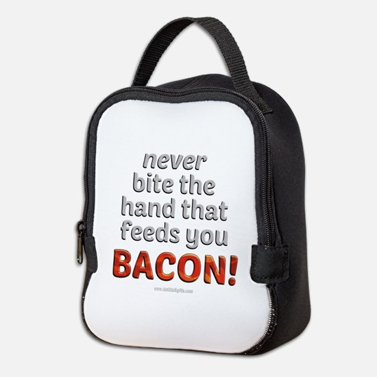 Bite the hand... Neoprene Lunch Bag
