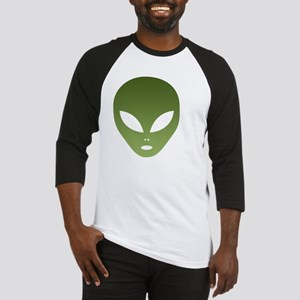 Extraterrestrial Alien Face Baseball Jersey