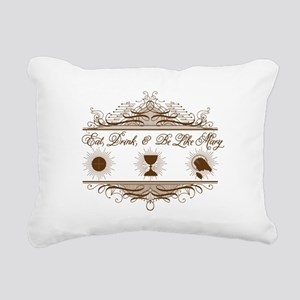 Be Like Mary Rectangular Canvas Pillow