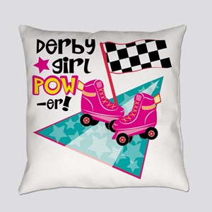 Derby Girl Power Everyday Pillow