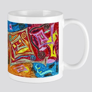 Bohemian Spiral Mugs