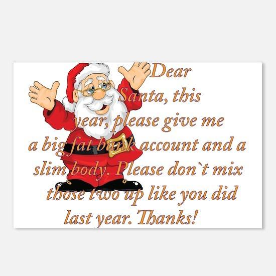 Santa Letter Postcards (Package of 8)