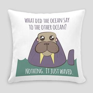 Walrus Joke Everyday Pillow