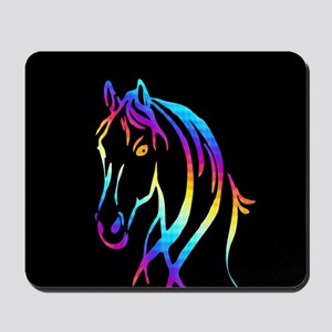 Colorful Horse Mousepad
