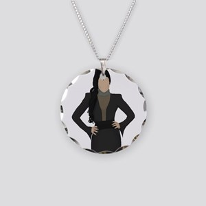 Once Upon a Time Regina Necklace Circle Charm