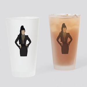 Once Upon a Time Regina Drinking Glass
