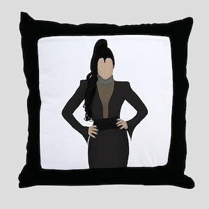 Once Upon a Time Regina Throw Pillow