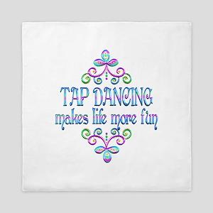 Tap Dancing Fun Queen Duvet