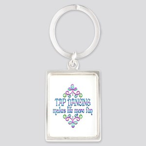 Tap Dancing Fun Portrait Keychain