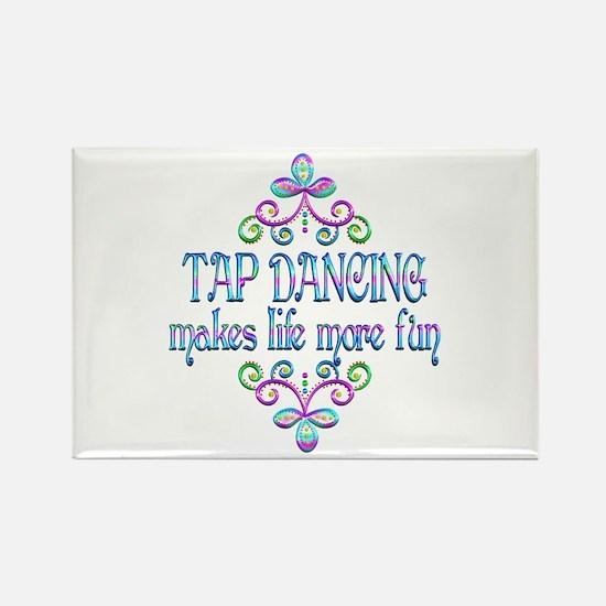 Tap Dancing Fun Rectangle Magnet