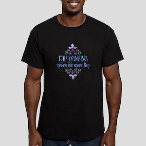 Tap Dancing Fun Men's Fitted T-Shirt (dark)