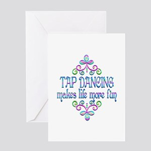 Tap Dancing Fun Greeting Card